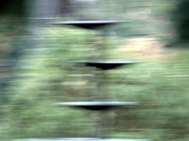 Ufos im Waldkunstpfad 2013, Panasonic-Ausstellung-2
